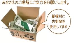 ◇ 梱包について